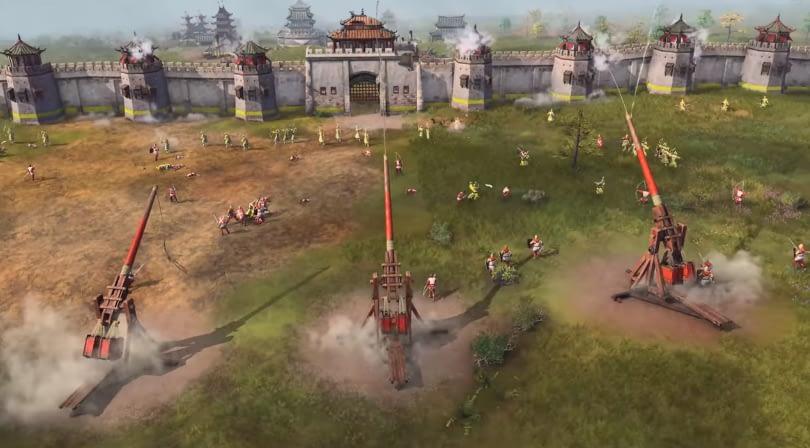 """Age of Empires 4 تستعرض أسلحة الحرب """"المنجنيق"""""""